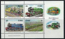 Ireland 584a Souvirnir Sht. Famous Locomotives 1984 MNH
