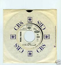 45 RPM SP PROMO MICHEL FUGAIN SOLEIL / JE RENDS MON TABLIER