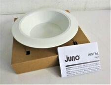 "JUNO LIGHTING GROUP 6RLD-927-6-WWH 6"" LED Retrofit Baffle Trim, 600 Lumens"