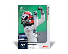 2020 TOPPS NOW F1 #1 PIERRE GASLY SECURES HIS FIRST FORMULA 1 VICTORY AT MONZA