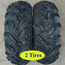 TWO 25x10-12 ATV UTV RTV TIRES 25x1000-12 25x10.00-12 25/10-12 Kenda K586 6ply