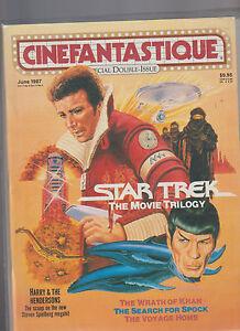 Cinefantastique Magazine June 1987 Star Trek Harry & the Hendersons