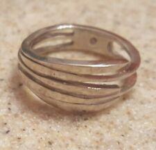 Ring Size 7 Womens Fashion Silver Wrap