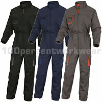Delta Plus M2CO2 Mens Hard Wearing Work Overalls Boiler Suit Coveralls Mechanics
