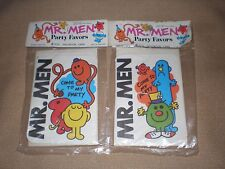 BNIP Mr Men Party Favors 6 piece invitation cards & envelopes x2 packets in EC