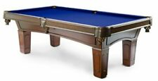 "8ft 3-piece slate pool table, real 1 1/2"" wood, Glen"