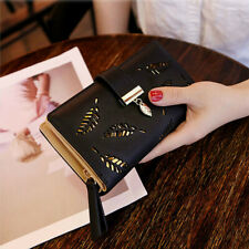 Clutch Leather Wallet Long Card Holder Phone Bag Case Purse Women lady Handbags