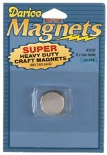 Darice 10757 1-Piece Round Magnet, 18 by 3 mm- Super Strong, Heavy Duty