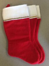 christmas stocking. Lot Of 3.