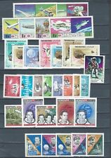 Middle East Yemen mnh selection of stamp sets - 2 pages - SPACE