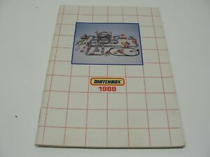 1989 MATCHBOX CATALOG MINIATURES CONVOY TWINPACK SUPERKINGS YESTERYEAR