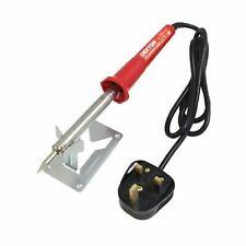 Professional 30Watt Soldering Iron Gun Solder Electric Pointed Tip 240V UK Plug