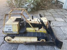 Vintage 1970's Tonka Trucks T9 Bulldozer Mighty Turbo Diesel Pressed Steel