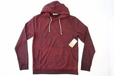THREADS 4 FOR THOUGHT DYED RED BURGUNDY LARGE HOODIE PULLOVER SWEATER MENS NWT