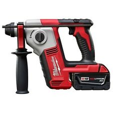 "NEW MILWAUKEE 2612-22 M18 18 VOLT CORDLESS 5/8"" SDS PLUS ROTARY HAMMER DRILL KIT"