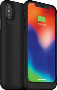 Mophie iPhone X / XS Juice Pack Air Charging Cover Case - Black