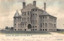 Berea Ohio Baldwin University Recitation Hall Antique Postcard (J29617)