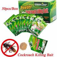 1 Box Cockroach Killer Powder Killing Bait Roach Work Fast Express Shipping