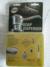 DANCO Universal Soap Dispenser CHROME #10038 Under Counter Pump Mount Microban