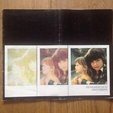 1x original Polaroid Broschüre - broscure ,  Die SX-70 Land Kamera Camera