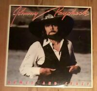 Johnny Paycheck ‎– Armed And Crazy Vinyl LP Album 33rpm 1978 Epic ‎– 35444