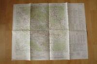 alte Landkarte Kemnath und Umgebung Militärgeographische Dienststelle 1960
