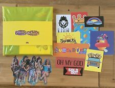 Kpop (G) I-dle Official Dumdi Dumdi Album Day Version With Stickers And Poster