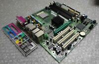 Genuine Dell 0F4491 F4491 Dimension 4600 LGA 478 Motherboard with I/O Back Plate