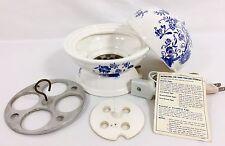 Vtg Electric Egg Cooker Boil Scramble Poach Ceramic w/ Instructions Japan WORKS!