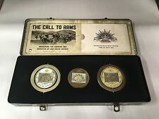 GALLIPOLI RISING SUN MEDAL COLLECTION IN ARTILLERY TIN ANZAC LIMITED EDITION