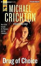 Drug of Choice by Michael Crichton (2015 CD Unabridged) Audiobook Free Shipping!