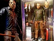 """NECA ULTIMATE JASON FRIDAY THE 13TH PT.4 7"""" ACTION FIGURE #MINT CONDITION"""
