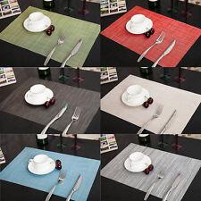 Platzset Platzmatte Tischmatte Decke Platzdeckchen Küche / Esszimmer - 6 Farbe