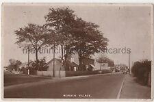 Morden Village, London, Surrey Tuck RP Postcard B757