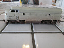 athearn Bf&M powered engine Ho scale weathered