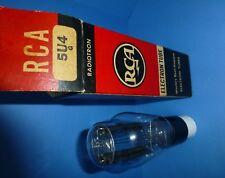 Vintage RCA 5U4 G hanging filament large 'Coke' bottle. Tests WEAK.For COLLECTOR
