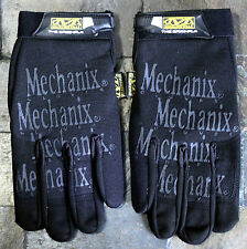 Mechanix Gloves  1pr Small BLACK ON BLACK