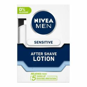 Nivea For Men Sensitive After Shave Lotion - 100 ML (free shipping world)