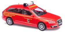 Busch 49662 Audi A6 Vehículo de Emergencia Bombero Dessau Ho 1:87 Nuevo