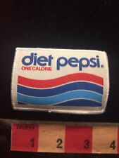 One Calorie DIET PEPSI COLA Advertising Patch 70D2