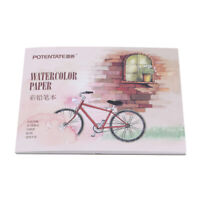 Office Watercolor Paper Hand Painted Water Book For Artist Student Art New LJ