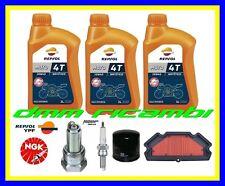 Kit Tagliando KAWASAKI ER6 650 12 Filtro Aria Olio REPSOL Candele ER 6 N F 2012