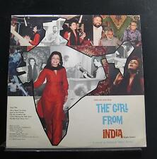Amal Dev - The Girl From India / This Man From Africa LP VG+ GFI 1001 Signed