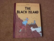 Tintin - The Black Island - Facsimile Edition - 2008 - Excellent condition.