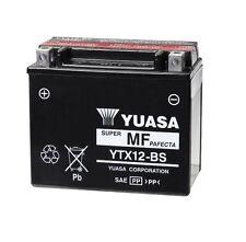 BATTERIA MOTO YUASA YTX12-BS Suzuki 650 DL650 V-Strom 2004 - 2012