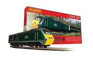 HORNBY R1230 GWR HIGH SPEED TRAIN SET CLASS 43 STARTER TRAIN SET OO 00 GAUGE