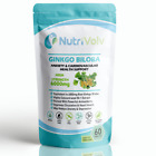 Ginkgo Biloba 6000mg - 120 Tablets -Blood Circulation Heart Memory Focus Anxiety
