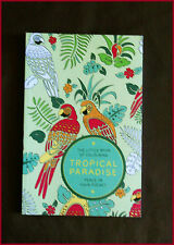 TROPICAL PARADISE - ADULT COLOURING Peace in your Pocket Colour-in 96pg NEW BOOK