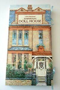 EDWARDIAN DOLL HOUSE 3-Dimensional  BOOK by BRIAN SANDERS HARDCOVER 1995 UNUSED