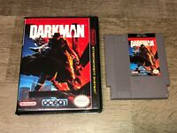 Darkman w/Case Nintendo Nes Cleaned & Tested Authentic